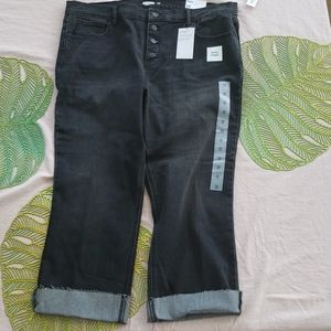 Old Navy Flare ankle length stretch jeans